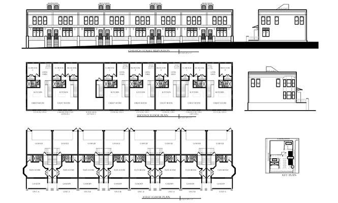 CHURCH STREET FLOOR PLAN ELEVATION.dwg CHURCH_PLAN_ELEV (1)