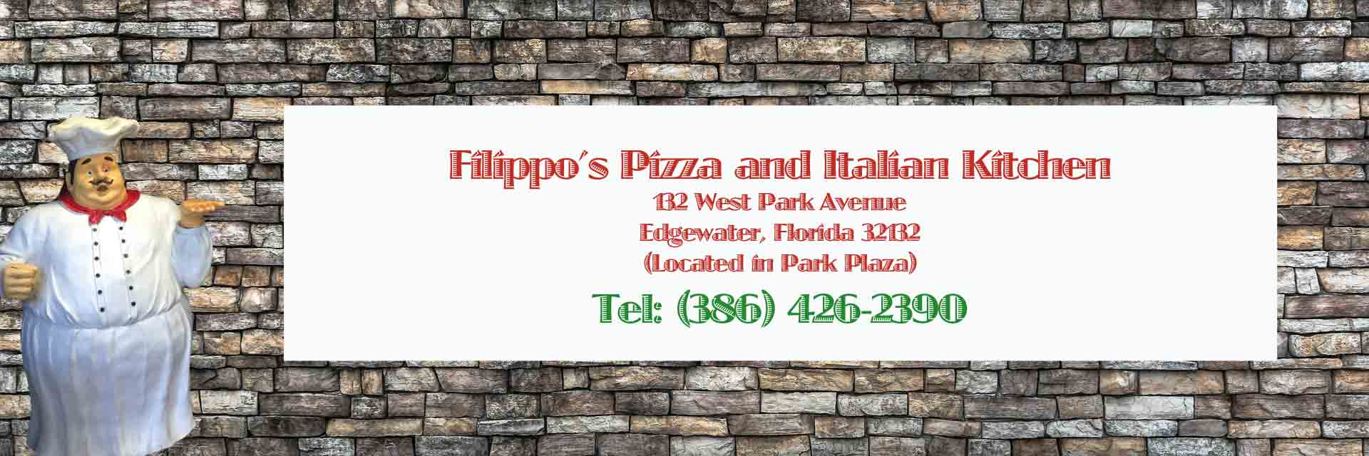 Pizza by Filippos - New York Style Pizza and Italian Kitchen